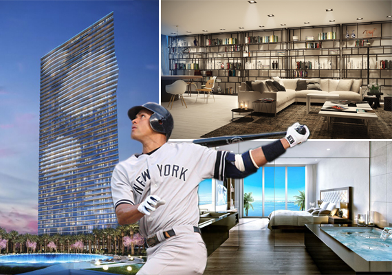 Renderings of GranParaiso and Alex Rodriguez (Credit: Keith Allison)