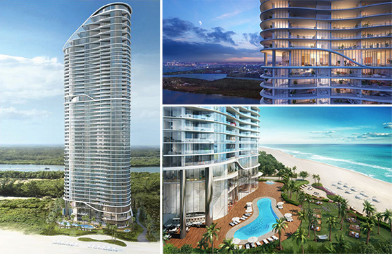 Renderings Of The Ritz Carlton Residences Sunny Isles Beach