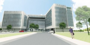 Rendering of the United Technologies building in Palm Beach Gardens