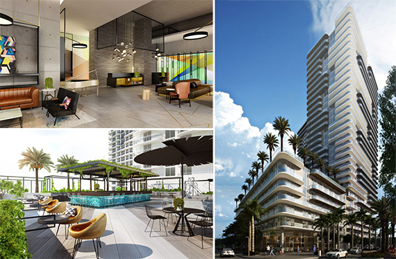 Renderings of Hyde Midtown in Miami