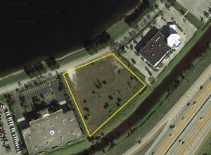 The vacant land at 2880 Center Point Circle where MCR plans to build a new Residence Inn hotel
