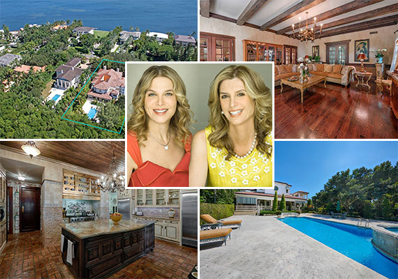 The home at 29 Tahiti Beach Island Road in Coral Gables and listing agents Jill Eber and Jill Hertzberg