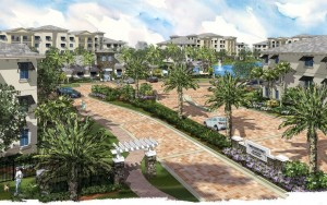 Rendering of Broadstone at Plantation