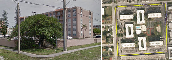 The Center Court Apartments in North Miami