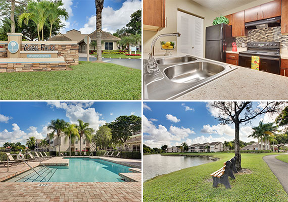 The Coral Falls apartments in Coral Springs