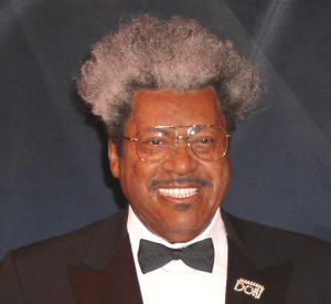Boxing promoter Don King