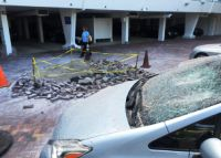 Damage after explosion at the Sun and Surf condo. (Credit: Palm Beach Daily News)
