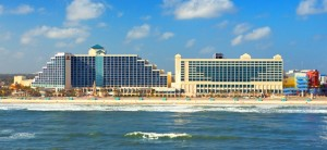 The 74-room Hilton Daytona Beach.