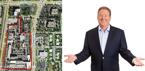 Map of Delray Motors sale and Charles Schumacher