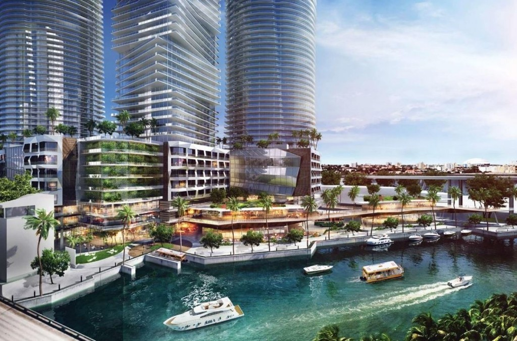 Rendering of Chetrit's Miami River project