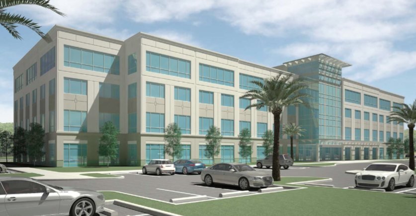 Rendering of Pembroke Pointe office building