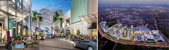 Renderings of Metropica