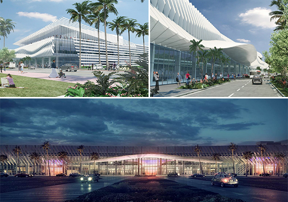 Renderings Of The Miami Beach Convention Center