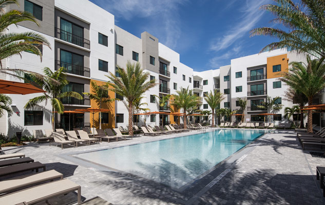 University Park luxury student housing complex in Boca Raton