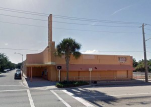 The vacant Carefree Theatre in West Palm Beach