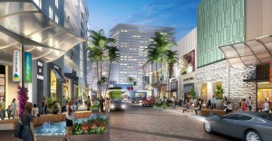 Rendering of the retail at Metropica