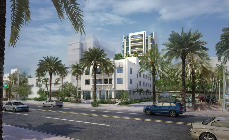 Rendering of the Berkeley Shore, 1601 Collins Avenue
