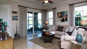 D.R. Horton model home at Creekside Preserve.
