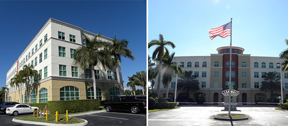 The Doral Commons office property at 8550 Northwest 33rd Street