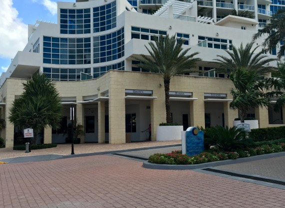 The brokerage's new space at the Continuum in South Beach