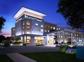 Rendering of Hyatt House in Boca Village.