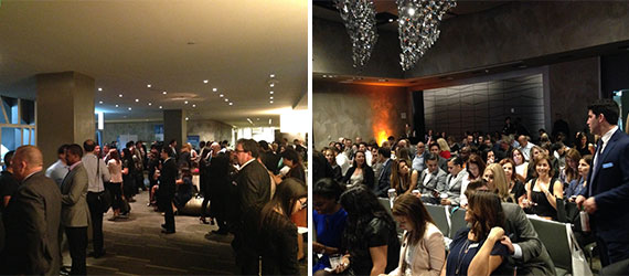Roughly 500 real estate professionals gathered at the W Fort Lauderdale on Wednesday for ISG's presentation