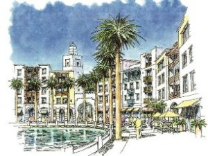 Rendering of WatersMark development at Port Canaveral.