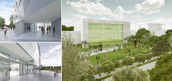 Renderings of ICA Miami