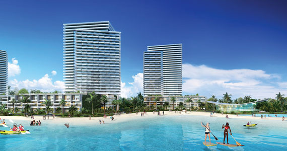 SoLe Mia would occupy a parcel where development has been stymied since the 1970s.