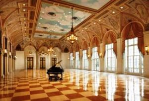 The Mediterranean Ballroom at The Breakers.