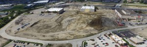 Denver developer John Frew demolished part of the Westdale Mall in Cedar Rapids, Iowa, to make way for a hotel and offices.