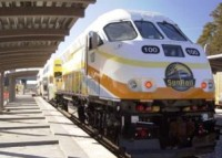 A SunRail train