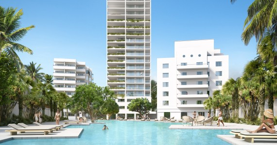 Fasano Hotel + Residences at Shore Club - rendering by Visualhouse