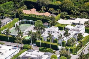 The sellers bought 301 Polmer Park in Palm Beach for $2 million in 1988.