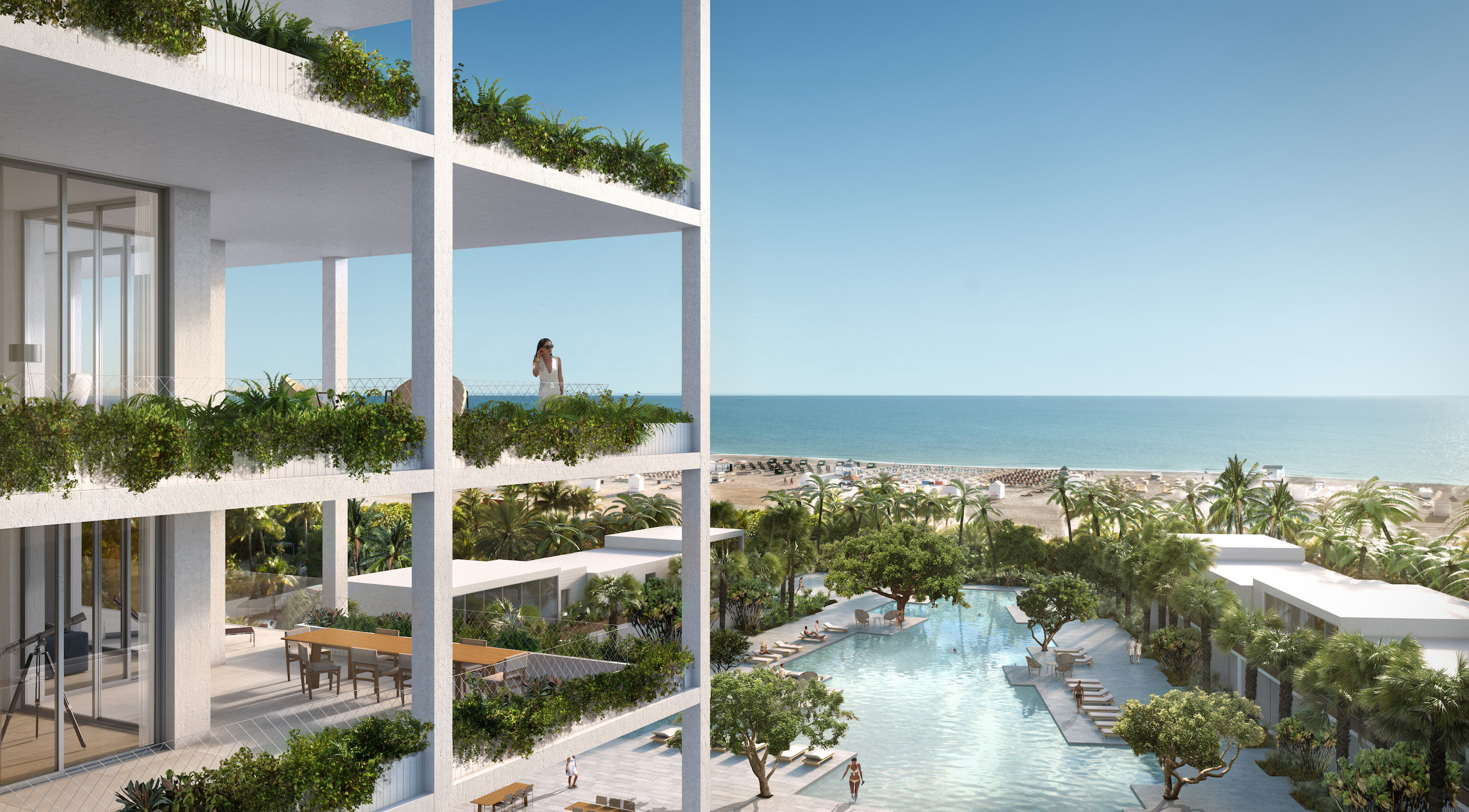 South florida renderings elysee rendering apeiron miami for The balcony hotel