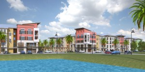 Rendering of Ancora condo project in Orlando