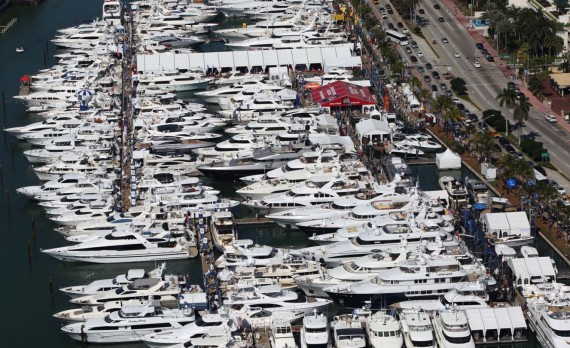 The Yacht Miami Beach boat show