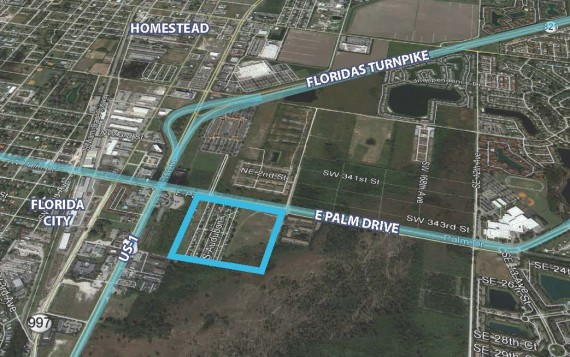 Florida City development site