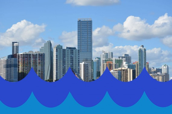 A 2012 photo of the Brickell skyline taken from the Rickenbacker Causeway (Credit: Daniel Christensen)