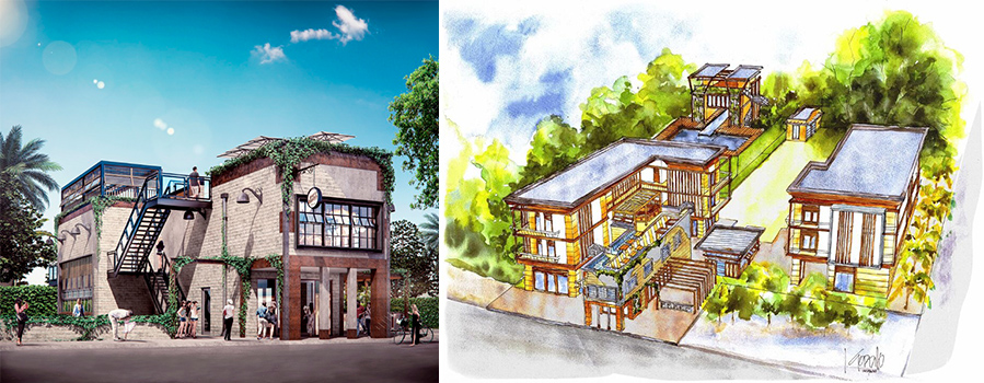 Renderings of Upper Buena Vista