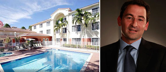 The Residence Inn Weston and Jonathan Gray, Blackstone's global head of real estate