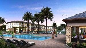 Rendering of Oasis at Grande Pines in southwest Orlando