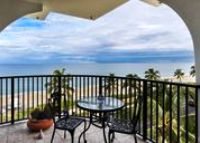 Balcony at Unit 5A at Dunsten House in Palm Beach
