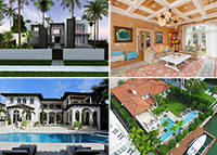 212 West Dilido Drive, 710 North Ocean Boulevard, 9440 West Broadview Drive and 190 Palm Avenue