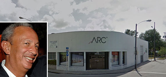 The retail building at 3946 North Miami Avenue and TriStar Capital head David Edelstein