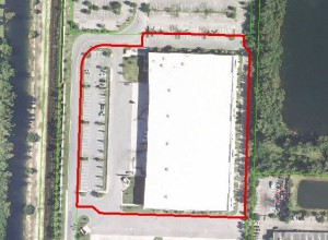 The warehouse at 601 North 103rd Avenue in Royal Palm Beach