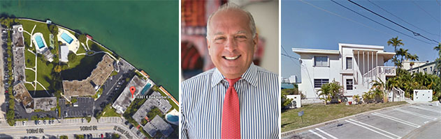 Bay Harbor Islands development site and Congress Group CEO Dean Stratouly