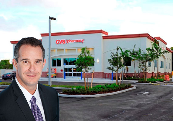 The CVS at 10425 West Sample Road in Coral Springs and CPAC Principal David Moret
