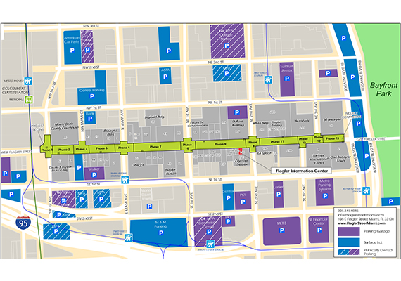 Flagler Street construction plan