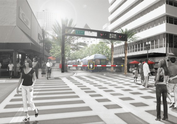 Flagler Street improvements